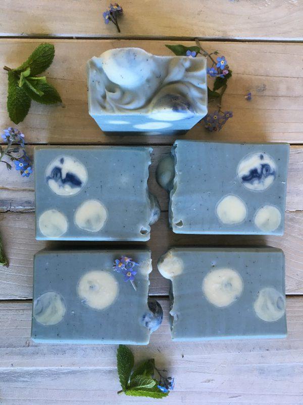 Blue moon soap
