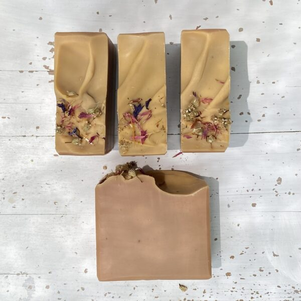 rosehip & yarrow soap