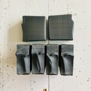 face wash bar with charcoal