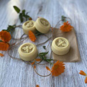 calendula honey butter moisturiser bar
