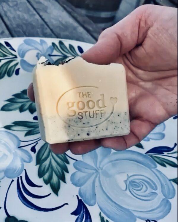 harakeke aloe honeycomb soap