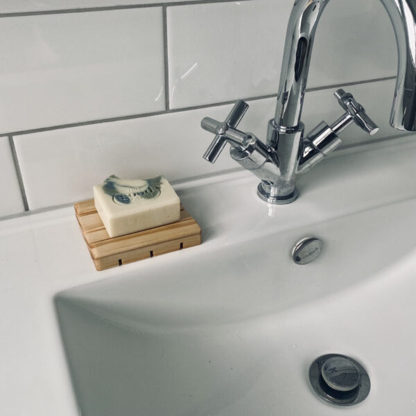 wooden soap stand tray